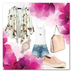 """Peach..."" by rita-coppola on Polyvore"
