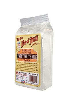 Bob's Red Mill Rice Flour Sweet White, 24-Ounce (Pack of 4) Bob's Red Mill http://www.amazon.com/dp/B004VLVMPG/ref=cm_sw_r_pi_dp_EJxfxb0CWJ8PF