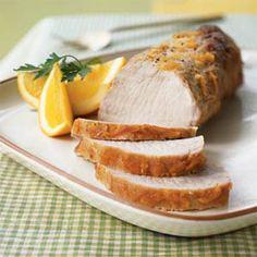 pork loin in the crockpot - made this using a teriyaki flavored pork loin.  super yummy and easy!