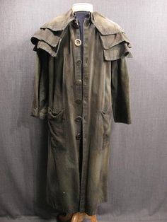 www.osfcostumerentals.org Distressed Coat, Duster, Jacket, Weathered