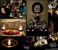 Witchy Words: Samhain 2013 Celebration and Ritual collage