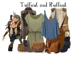 """""""Tuffnut & Ruffnut - Dreamworks How to Train Your Dragon"""" by rubytyra ❤ liked on Polyvore featuring Boohoo, Hollister Co., Dsquared2, Faith Connexion, RVCA, MICHAEL Michael Kors, White Mountain, Sif Jakobs Jewellery and Luciano Barachini"""