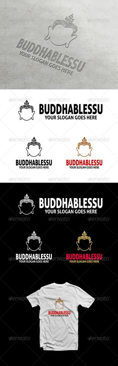 BuddhaBlessU - Logo Design Template Vector #logotype Download it here: http://graphicriver.net/item/buddhablessu-logo/6901879?s_rank=852?ref=nexion