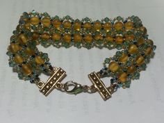 double layeredlacy Victorian style bracelet by tahdeah on Etsy