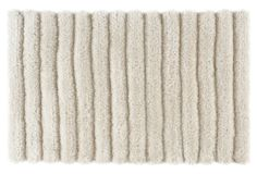 Gene Shag Rug, Pearl 8x10 $575 polypropylene/polyester