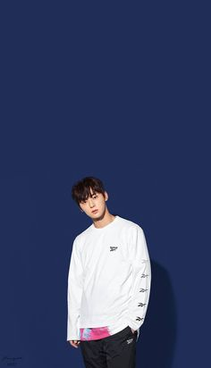Wanna One Hwang Minhyun X Reebok Wallpaper Produce 101, Jinyoung, Shanghai, Nu Est Minhyun, First Boyfriend, Boyfriend Pictures, Cha Eun Woo, Sungjae, My Destiny
