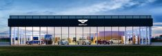 Image result for bentley car showroom architect