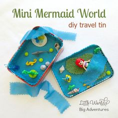 How to Make a Mermaid Travel Tin