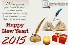 Wishing You A Happy New Year 2015 with Proof Read My File Team #proofreading #proofreaders #editors www.proofreadmyfile.com