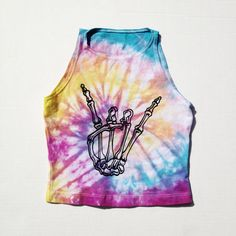 One of a kind piece, you will receive the shirt in the pictures size xs chest waist approx. center length falls above bellybutton brand: am… Tye Dye, Festival Outfits, Festival Fashion, Edm Festival, Rave Shirts, Diy Clothes, Clothes For Women, Tie Dye Shirts, Rave Outfits