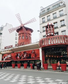 Le Moulin Rouge  Re-post by Hold With Hope