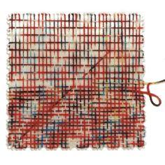 "KA Square Weaving Loom. 4"" x 4"" plate loom"