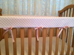 Crib Rail Cover/ Crib Wrap Create Your Own by PreciousBabyAttire