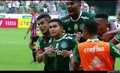 Gols Palmeiras 3 X 0 São Paulo Campeonato Paulista 11/03/2017