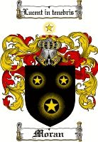 Moran Coat of Arms Irish Family Crest
