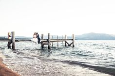 South Lake Tahoe is the perfect place for your destination wedding, and Edgewood Tahoe weddings are stunning any time of the year. Indigo Photography #Tahoewedding #destinationwedding www.tahoeweddingsites.com
