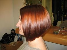 I loved my hair when it was cut like this! - cute idea - good and modern on you!
