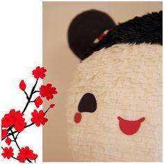 handmade piñatas!: Kokeshi doll piñata Stick