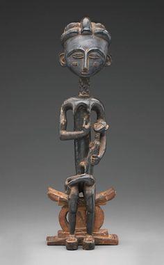 "Centuries Past, ""Maternity Figure,"" Asante, (Akan) African, 19th..."