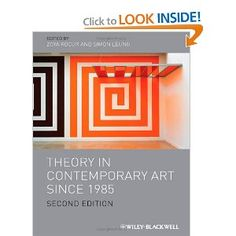 Kocur, Zoya.        Theory in Contemporary Art Since 1985