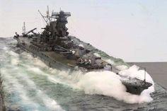 IJN Yamato battleship by Chris Flodberg #5B