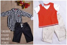 Conjuntos estilosos para bebês e crianças: http://www.gemelares.com.br/2015/02/conjuntos-estilosos-para-bebes-e-criancas.html