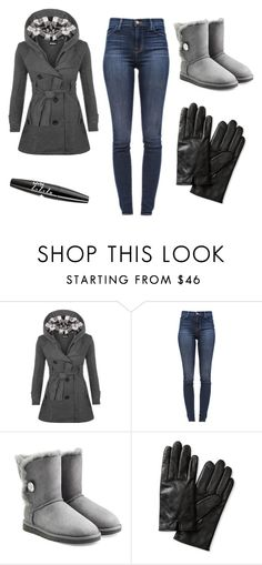 """November 2015"" by lupitabelmont on Polyvore featuring moda, WearAll, J Brand, UGG Australia, Banana Republic y NYX"