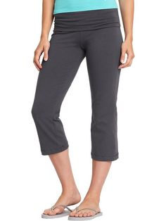 Women's Fold-Over Yoga Pants | Old Navy. I am not one to wear ...