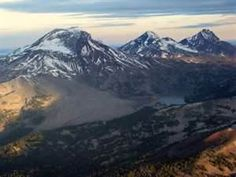 The Three Sisters, Cascade Mountain Range, Oregon. USA    picasaweb.google.com