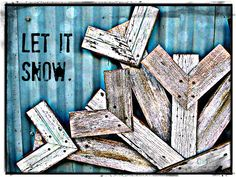 DIY Reclaimed Wood Snowflake | Winter Decor | MyAlteredState