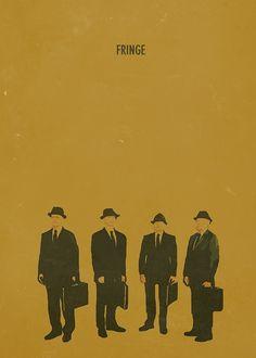 Fringe Minimalist Poster tv Serie
