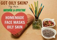 Oily skin can be such a pain because having a shiny greasy face is NOT appealing. There are various products which claim to control oil production but these homemade masks can prep up your skin for the whole day.