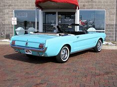 1965 Mustang Convertible always wanted one of these