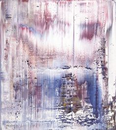 Gerhard Richter, Abstract Painting  1995.  92 cm x 82 cm. Oil on canvas. Catalogue Raisonné: 828-1