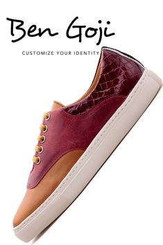 Womens Brogues Handmade Leather Shoes Red Camel And Brown Lace Shoes Lace Shoes, Handmade Leather Shoes, Red Sneakers, Red Garnet, Brogues, Curiosity, Crocodile, Highlight, Red Wine