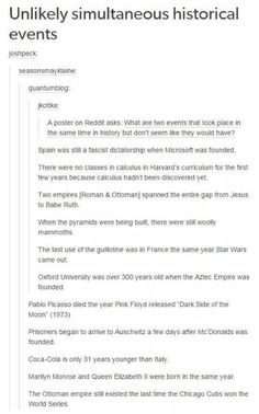 Same Times in History - Imgur