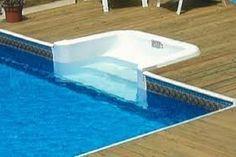 Warum Haben Sie Zu Wählen, Über Boden Pool Treppe? #Außen