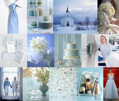 nordic icy blue palette