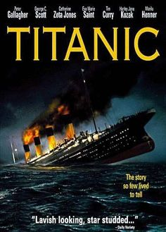 Titanic TV Mini-Series on CBS A glamorous wife considers an affair with an old flame while a harmless pickp Titanic History, Titanic Movie, Rms Titanic, I Movie, James Cameron, Titanic Deaths, The Mask Of Zorro, Eva Marie Saint, Netflix