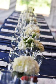 white and red wedding ideas blue | Red White Blue July 4 Virginia Wedding Table Decor 275x414 Red White ...