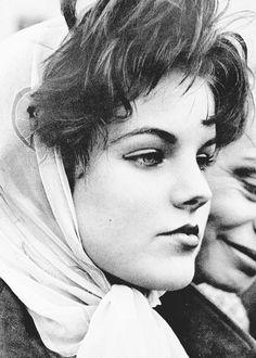 Priscilla Beaulieu, after Elvis left Germany.