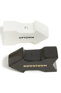 kate spade new york 'fairmount park - uptown downtown' salt & pepper set available at #Nordstrom
