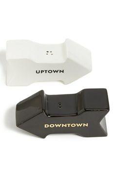 kate spade new york 'fairmount park - uptown downtown' salt & pepper set available at #Nordstrom