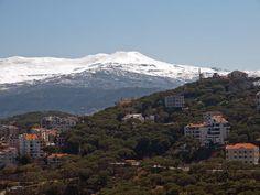LEBANON, BROUMMANA SUMMER RESORT, NICE HOMES & PINES