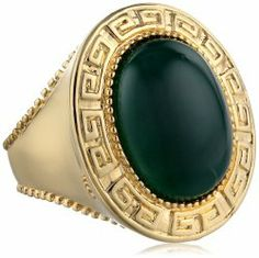 Two-Tone Colors Green Agate Ring #unusualengagementrings