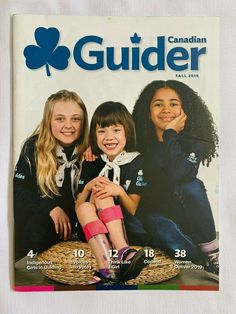 Girl Guides Girl Scouts Magazine CANADA Crests Games CAMP Duke of Ed Award Harry Camping Games, Girl Guides, Crests, Girl Scouts, Duke, Magazines, Sewing Patterns, Crafts For Kids, Canada