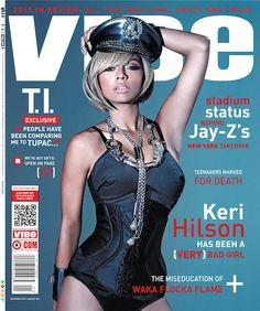 Cover to Cover: Keri Hilson, Rihanna and Nicki Minaj Vibe Magazine, Black Magazine, History Of Hip Hop, Waka Flocka, Keri Hilson, Celebrity Magazines, Bullet Bra, Pop Rock, Music Magazines