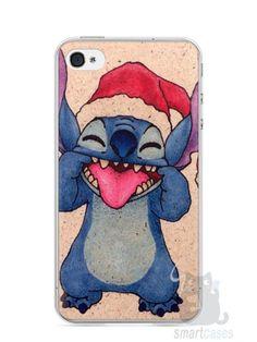 Capa Iphone 4/S Stitch #2 - SmartCases - Acessórios para celulares e tablets :)
