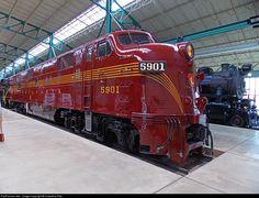 RailPictures.Net Photo: PRR 5901 Pennsylvania Railroad EMD E7(A) at Strasburg, Pennsylvania by Hiawatha Pete