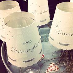 Wine glass Paper-Lanterns
